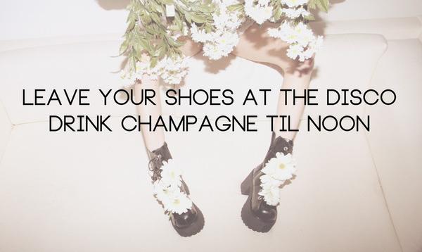 daisy, disco, & champagne